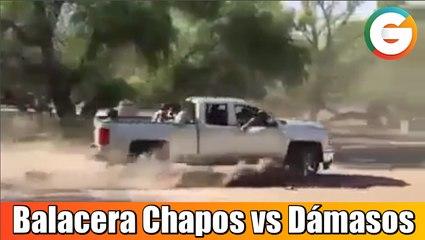 Chapos y Dámasos se enfrentan a balazos en Culiacán