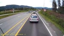 Namjerno izazvao sudar, ali nije znao da vozač kamiona ima kameru!