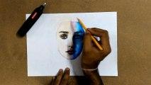 Drawing DAENERYS TARGARYEN (Game of Thrones) - Emilia Clarke