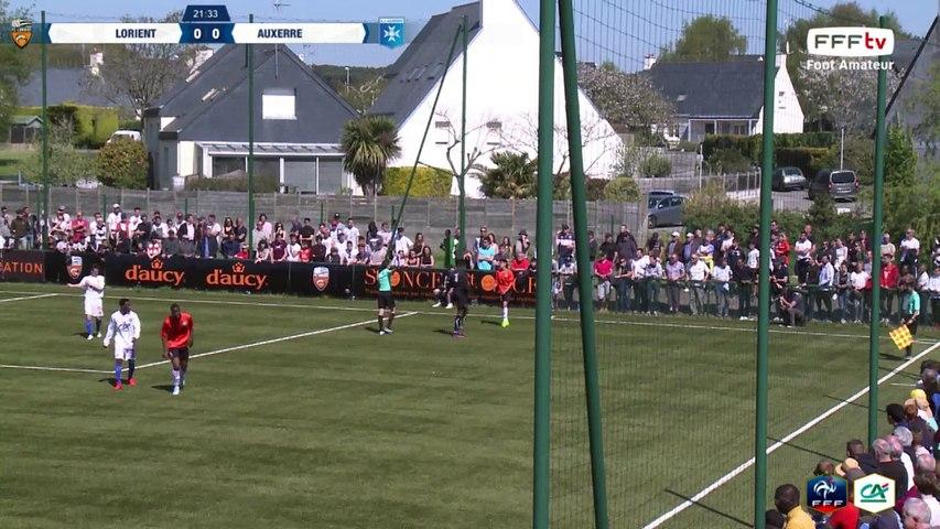 Dimanche 02/04/2017 à 14h45 - FC Lorient - AJ Auxerre - Coupe Gambardella Crédit Agricole - Quarts de Finale (5)