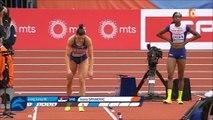 saut en longueur F, les 6 sauts de Spanovic - ChE d'athlétisme en salle, Belgrade 2017 (05.03.17)