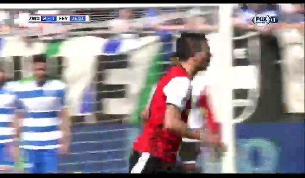 All Goals & Highlights HD - Zwolle 2-2 Feyenoord - 09.04.2017