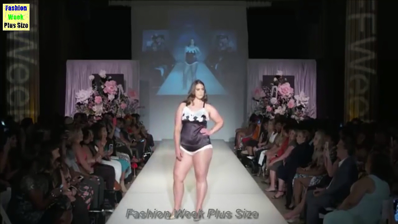 Fashion Week Plus Size 2017 - Big Size women - But The Lingerie - Fashion Show - http://bit.ly/2Xc4EMY