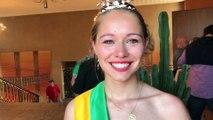 La Reine des Jonquilles Suzy Ruer raconte sa première expérience sur le char de la Fête des Jonquilles