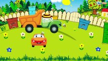 Emergency Vehicles - The Yellow Tow Truck Saves Cars - Cars & Trucks Cartoons for Children