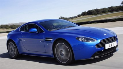 Aston Martin V8 Vantage S video review