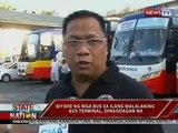 SONA: Biyahe ng mga bus sa ilang malalaking bus terminal, dinagdagan na