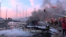 Muğla Yat Limanında Alevli Gece: 3 Yat Yandı, 1 Ölü, 1 Yaralı