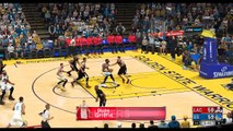 NBA 2K17 Stephen Curry,Kevin Durant & Klay Thompson Highlights vs Clippers 2017.02.23