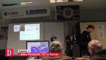 Allo la Terre,i l ISS le spationaute Thomas Pesquet entre en contact avec des To