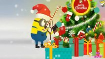 Minions Merry Xmas & Happy New Year 2017 | Christmas Songs | Minions New Year Fireworks [2017] 4k