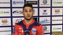 J27 PRO D2 - Après match ASBH - Montauban : réaction de Lucas Daminiani