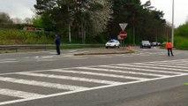 Grave accident entre une moto et une voiture à Wavre