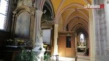 L'église de Brie-Comte-Robert en plein chantier