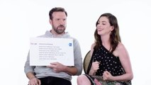 Jason Sudeikis & Anne Hathaway Answer the Web's Most Searched Questions