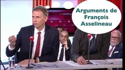 Les journalistes utilisent les arguments d'Asselineau contre Marine Le Pen