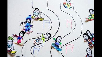 le slalom des CM2