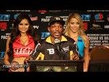 Manny Pacquiao vs. Tim Bradley 3 COMPLETE Tim Bradley Post Fight Press Conference Video
