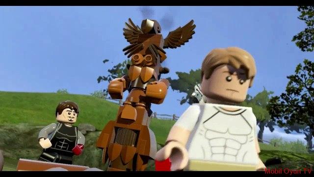 Lego Marvels Avengers Capt. America VS Ultron Highway_Semi Truck Boss Fight