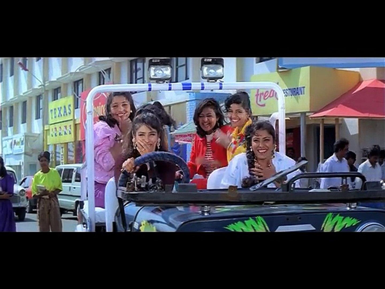 Venkatesh & Raveena's Funny Scene _ Taqdeerwala _ Hindi Movies