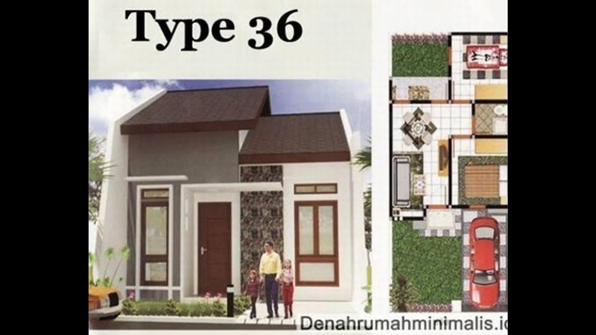 Desain Rumah Minimalis 1 Lantai Type 36 video dailymotion