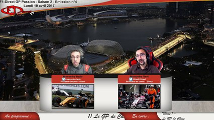 REPLAY - F1-Direct GP Passion / Saison 2 - Emission 4