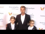 Gavin Rossdale and His Sons Kingston and Zuma 4th Annual Wishing Well Winter Gala Red Carpet