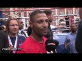 "Kell Brook ""We know whats coming! It's here now, I cant wait to show myself what I can do!"""