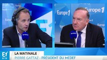 Emploi, croissance, euro, politique: Pierre Gattaz répond aux questions de Fabien Namias