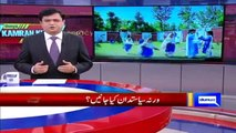 Kamran Khan Apprectiates PTI MPA Zia Ullah Bangash to Enroll His Daughter In a Govt School
