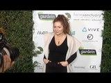 "Emma Kenney ""Farm Sanctuary's 30th Anniversary Gala"" Green Carpet"