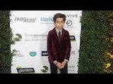 """Aidan Gallagher """"Farm Sanctuary's 30th Anniversary Gala"""" Green Carpet"""