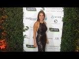 "Amy Jean Davis ""Farm Sanctuary's 30th Anniversary Gala"" Green Carpet"