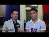 """Jessie Vargas """"Brook saw me too much as a risk! I don't see Brook winning, the power is too much"""""""