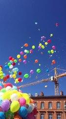 Foire de Toulouse 2017 - Lâcher de ballons Place du Capitole