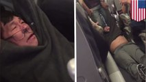 United Airlines drags passenger off flight kicking and screaming to make way for staff