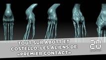 Les aliens de «Premier contact» livrent leurs secrets dans le making of du film