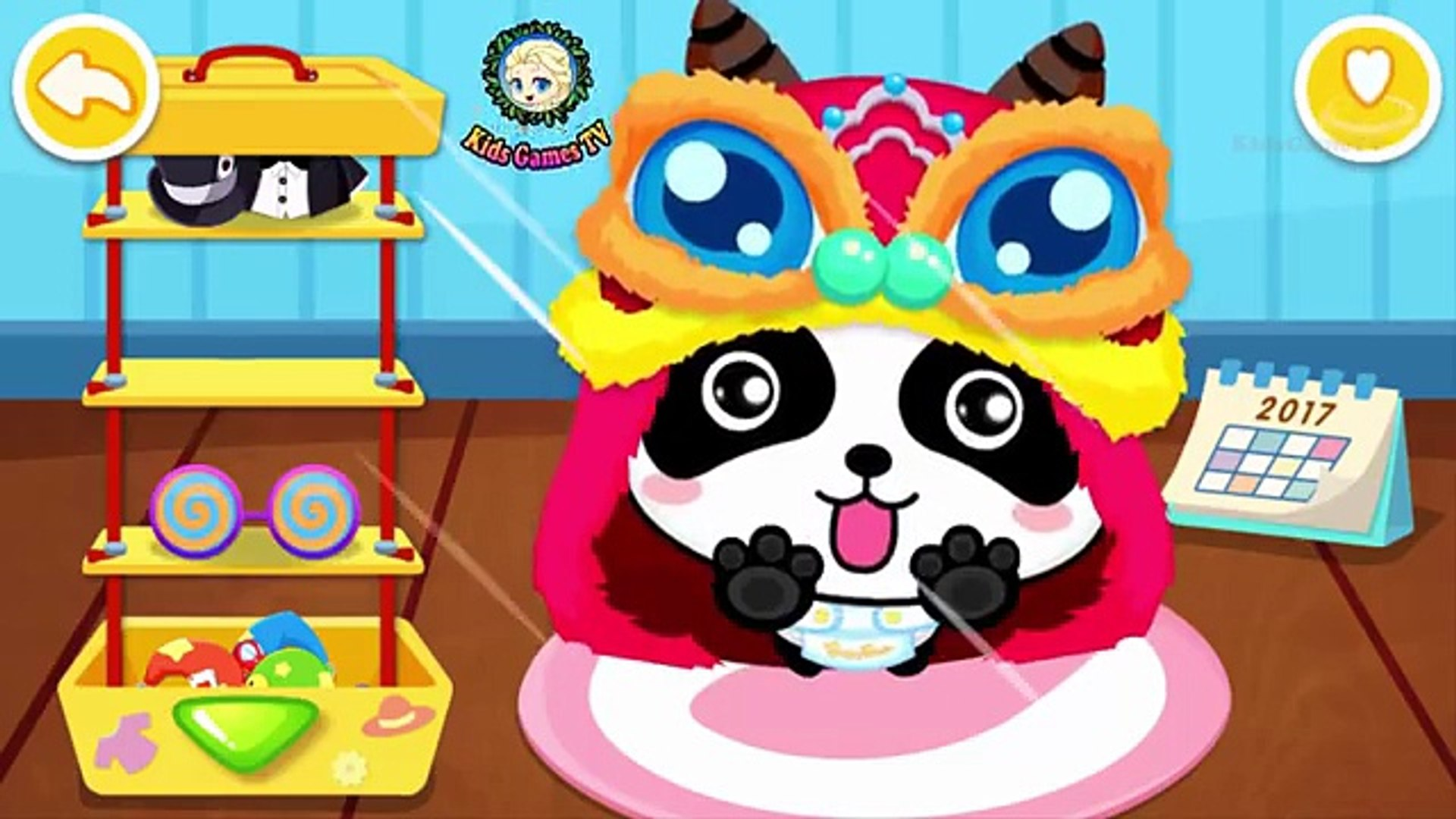 Baby Panda Care - Funny Games for kids _ #Animation Education Cartoons Videos Games For Kids