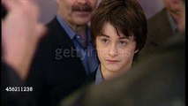 Daniel Radcliffe, Emma Watson and Rupert Grint at the premiere of Harry Potter and the Philosopher's Stone - 04/11/2001