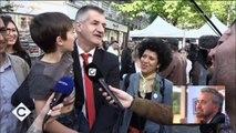"""""""Il vaut mieux voter pour moi, tous les autres vont vous baiser !"""" répète Jean Lassalle à des habitants de Saint-Denis"""