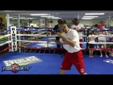 Sammy Vasquez vs Felix Diaz full video- COMPLETE Vasquez media workout