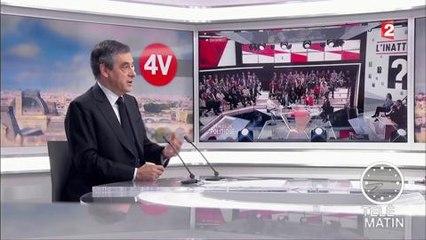 Telematin : François Fillon trouve qu'Emmanuel Macron n'a pas la carrure d'être président, mar 11 avril