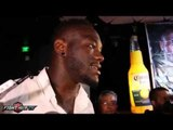 Deontay Wilder Talks Fighting Chris Arreola, Ready To Capture The World, And Povetkin