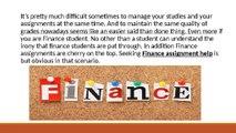 Finance Assignment Help    homework help online   homeworkhelp247.com