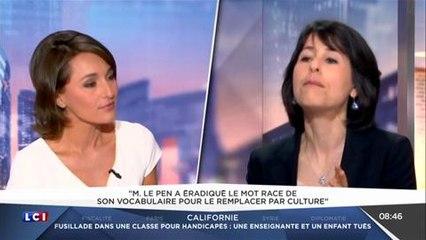 Pourquoi Marine Le Pen ne prononce-t-elle jamais le prénom de son père ?
