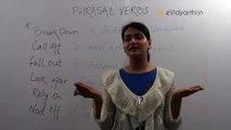 Basic English Speaking _ Phrasal Verbs in Daily Conversation