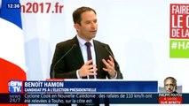 """Hamon présente les 6 premiers mois de son quinquennat """"car les Français doivent savoir ce que les candidats feront"""" (extraits)"""