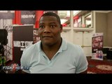 "Luis Ortiz ""Tell Oscar to sign it! I'll KO Deontay Wilder quick!"""