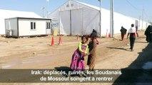Déplacés, ruinés, les Soudanais de Mossoul songent à rentrer