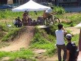TUBAGRA Flower trail MTB dirt jump and park ride contest #01 20090726